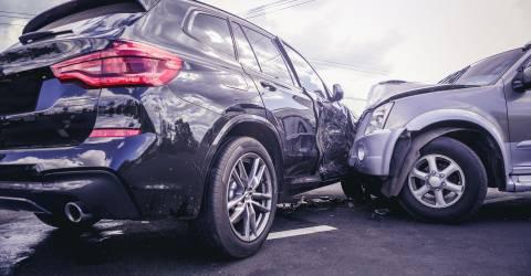 Auto ongeluk